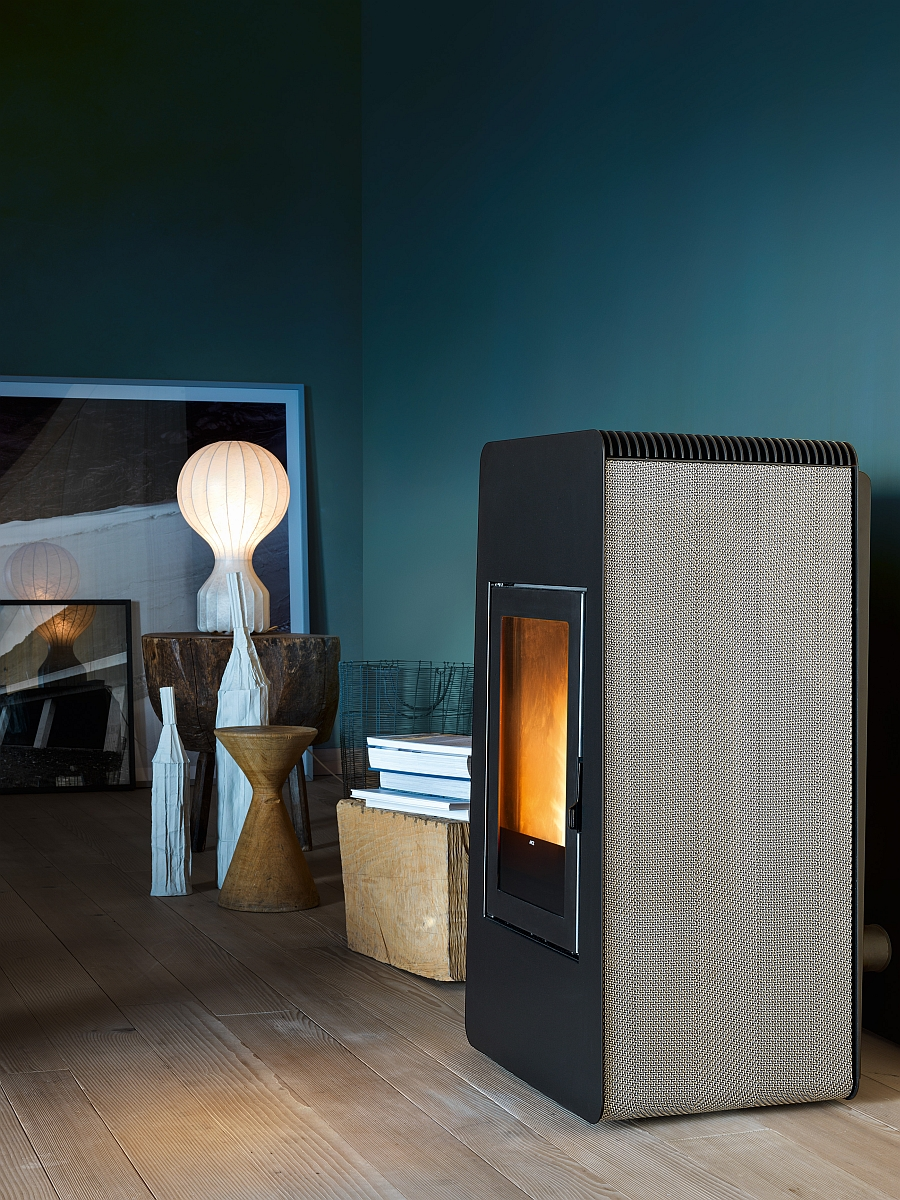 Exclusive pellet-burnings tove warms up your house with ease