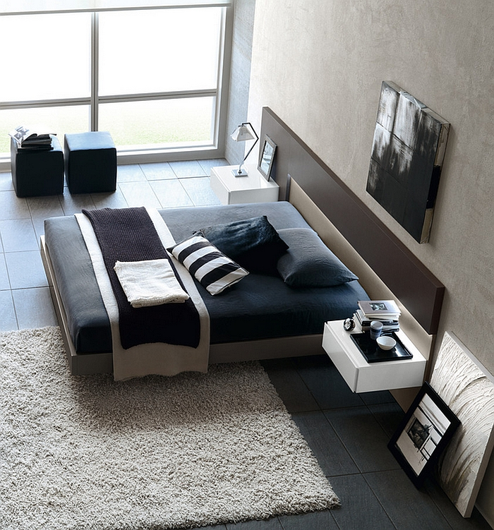 Colorful Minimal Room: Masculine Bedroom Ideas, Design Inspirations, Photos And