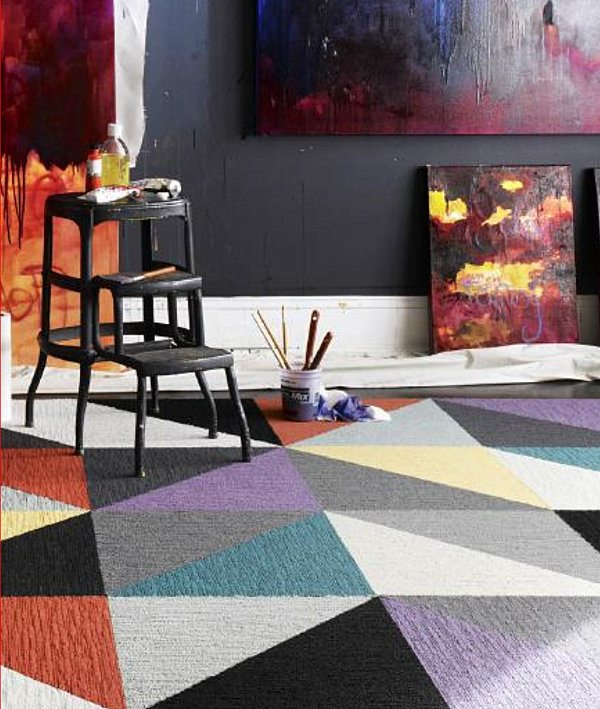 Carpet Tile Design Ideas carpet tile design ideas carpet design ideas carpet tile design throughout flor carpet design squares View In Gallery Flor Carpet Tiles