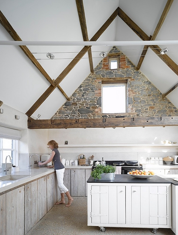 Fabulous kitchen blends the rustic with the modern