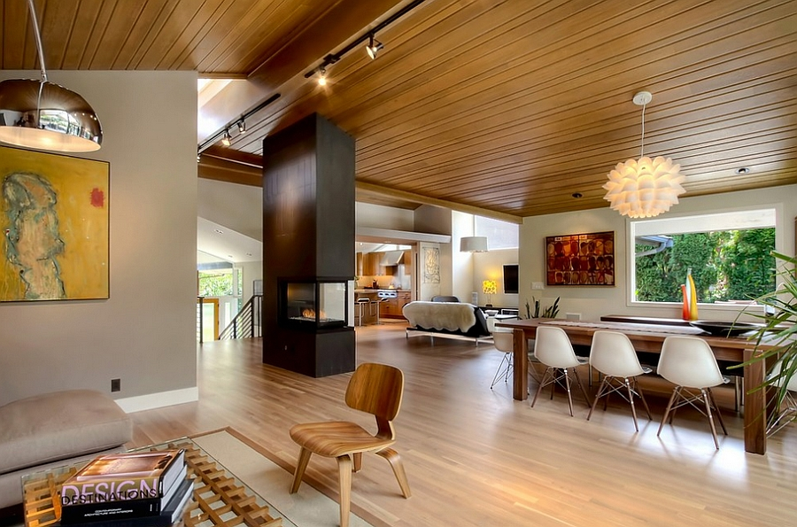 view in gallery fabulous midcentury modern home with inviting warmth how to give your home a captivating mid century - Mid Century Home Design