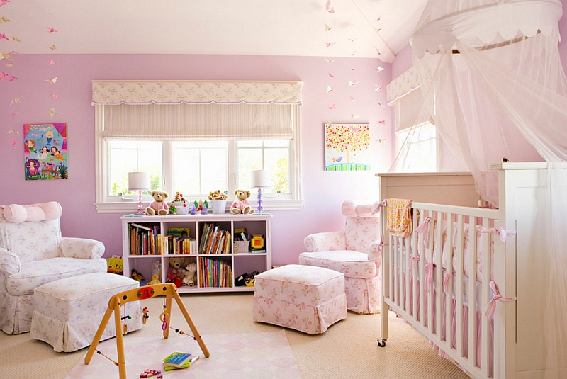 Fabulous pink nursery perfect for your baby girl