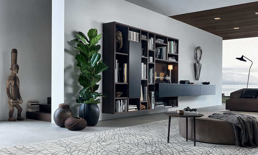 resourceful living room wall unit adapts to suit your dynamic urban
