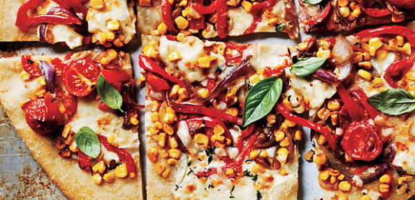 Farmer's market pizza idea
