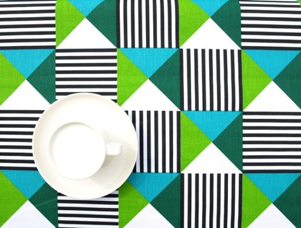 Festive tablecloth from Etsy shop Dreamzz