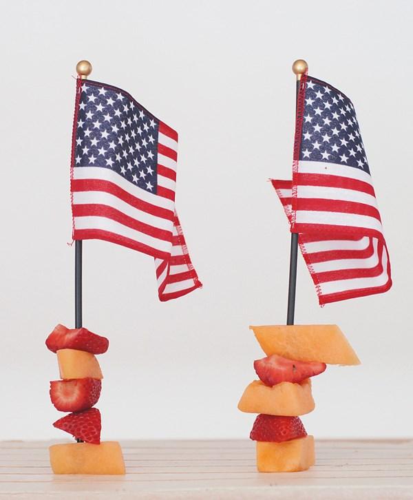 Flag skewers