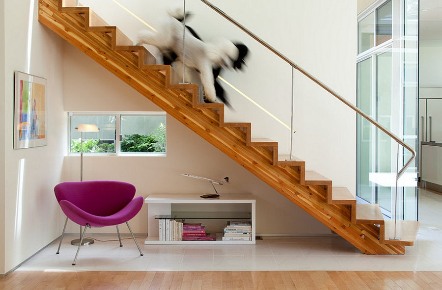 Fuchsia version of the Orange Slice looks truly mesmerizing and fun! [Design: Architect Heather Johnston]