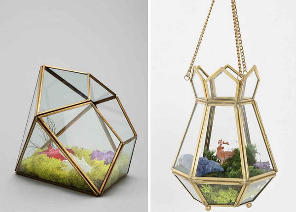 Geo terrariums from Urban Outfitters