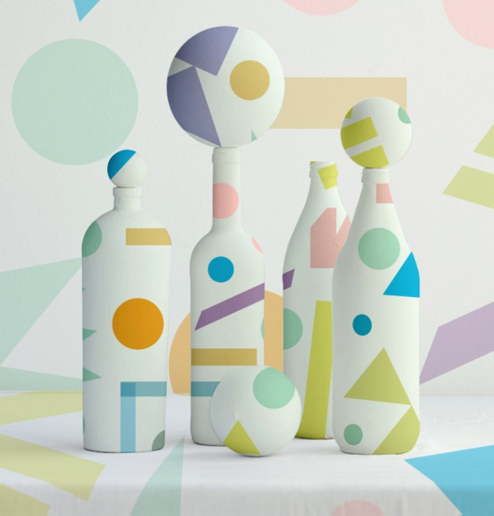 Geometric pattern by Judy Kaufmann