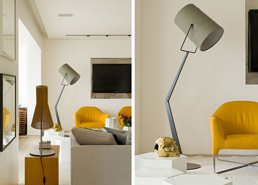 Gorgeous floor and table lamp additions with a sleek design