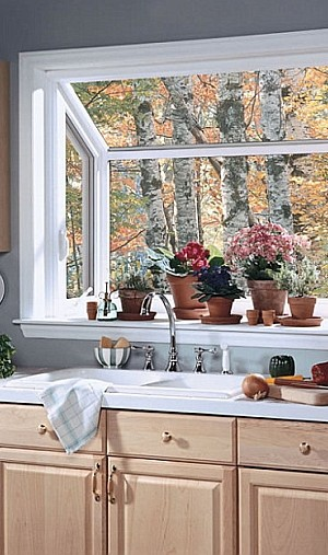 Greenhouse window decorating ideas