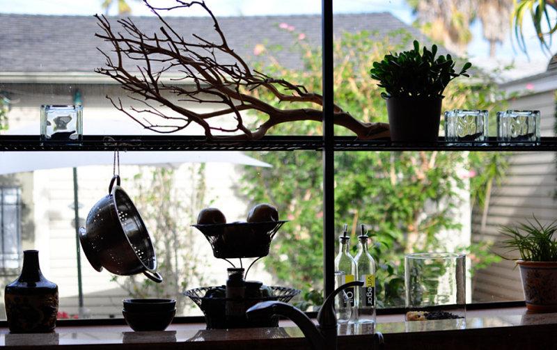 Greenhouse window styling ideas
