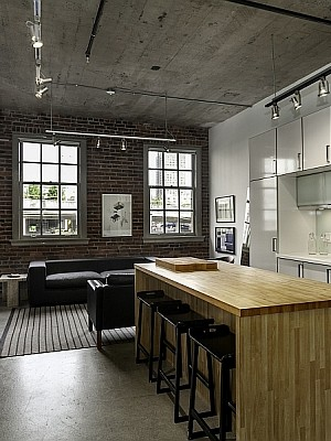 Heritage Conversion Loft in Vancouver