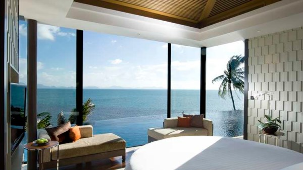 Hilton resort room with a view