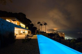 Dramatic Rio de Janeiro Home Enthralls With Amazing Ocean Views And Minimal Flair