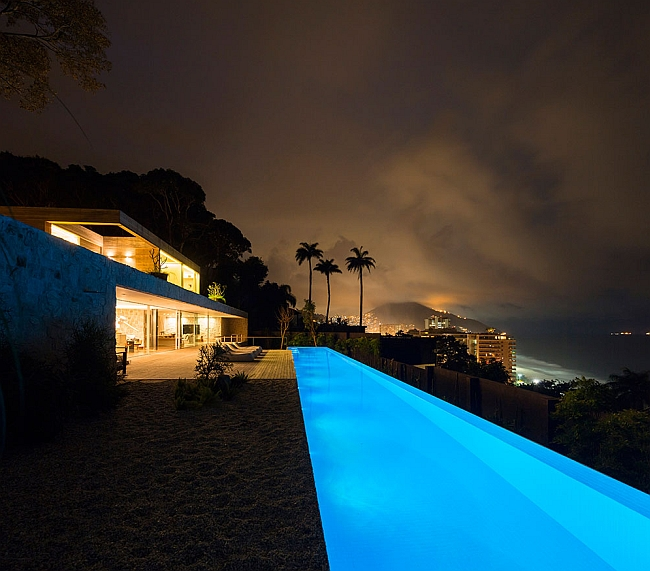Posh Rio De Janeiro Home With Spectacular Ocean Views