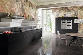 Iconic Italian Kitchen Reinvented With Sleek Simplicity And Rational Design
