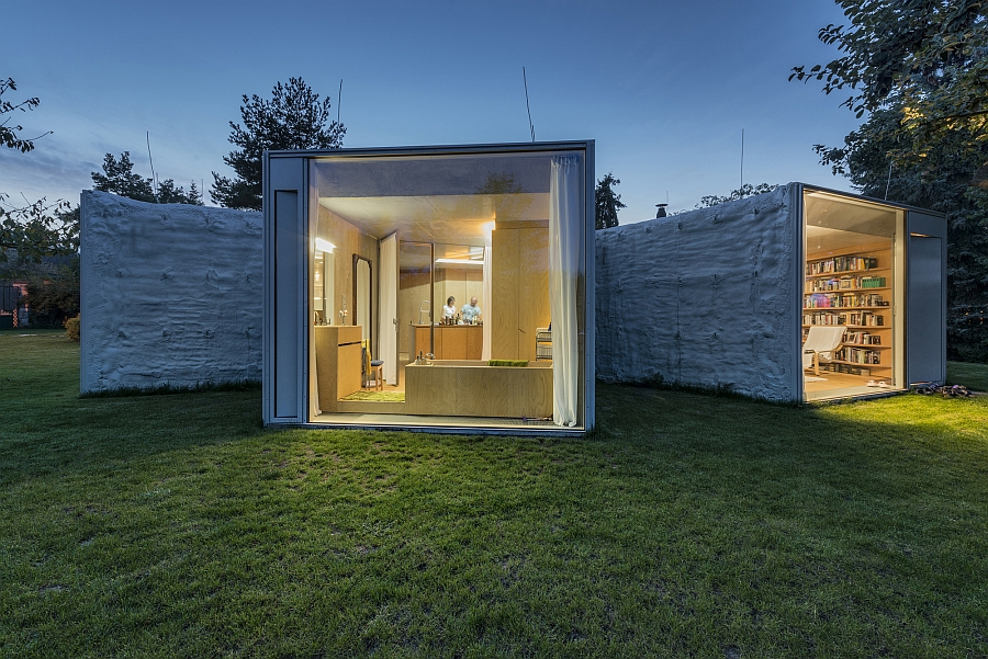 Intriguing design of the Chameleon House provides windows into the world outside Unique Landscape And Gorgeous Framed Views Shape The Chameleon House