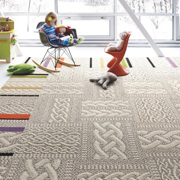 Just Plain Folk carpet tiles by FLOR
