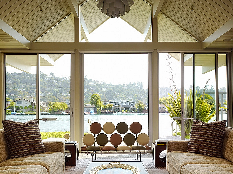 Mid century modern style design guide ideas photos Lake house windows