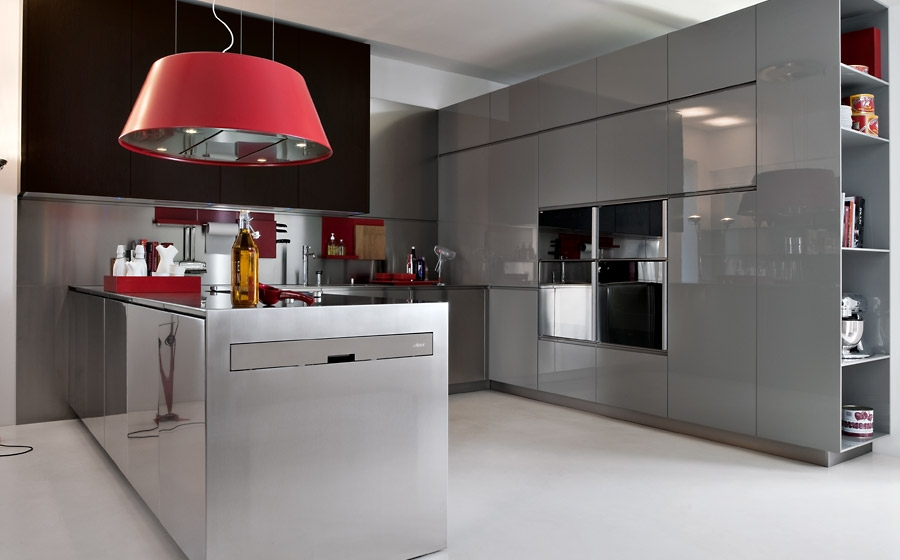 Let you accent additions shine through in the kitchen