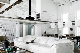 Living room designed by Paola Navone