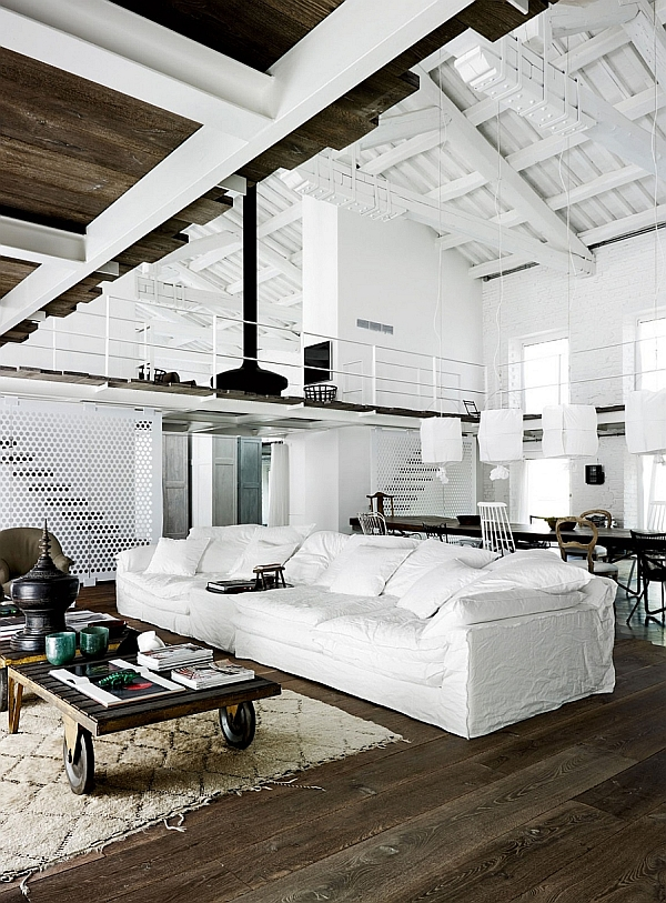 200-Year-Old Italian Factory Renovated Into A Trendy Modern Residence