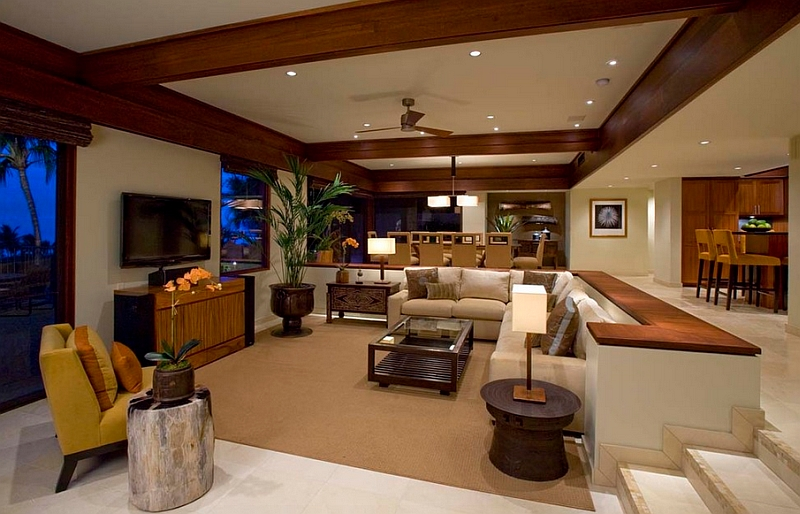 Sunken Living Rooms, Step-Down Conversation Pits Ideas, Photos