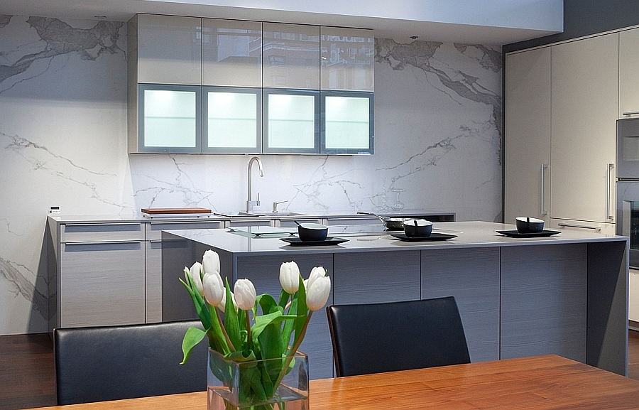 Resilient Porcelain Slabs For Kitchen Countertops, Islands ...