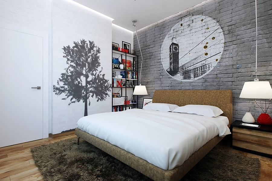 view in gallery masculine bedrooms need not be dull and boring - Masculine Bedroom Design