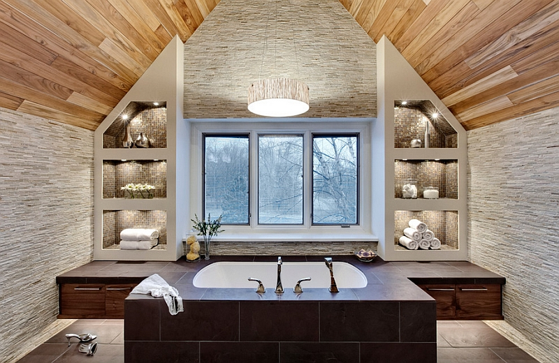 Master bath that offers a spa-like retreat at home
