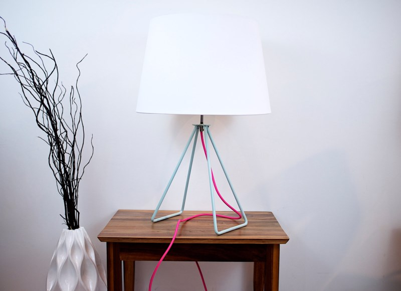 Midcentury-style lamp from Moderncre8ve