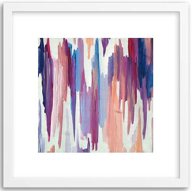 Modern artwork by Minted for West Elm
