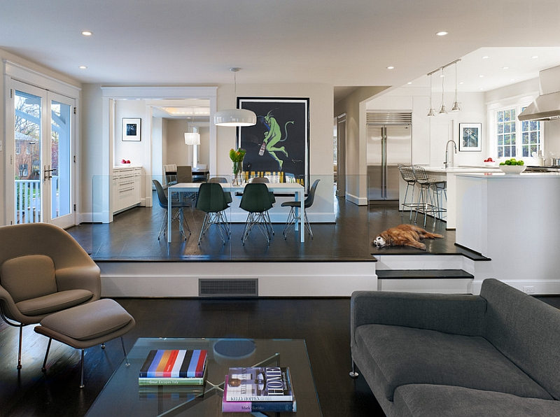 View In Gallery Modern Step Down Living Rooms Are Far Less Tacky Than Their 60s Counterparts