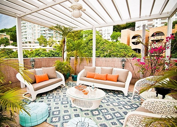Moroccan Patio Ideas