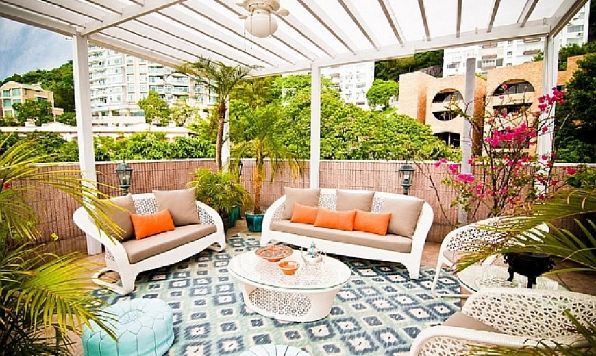 Exotic Moroccan Patios Add Color And Excitement To Your Home!