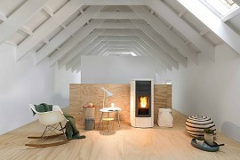 Contemporary, Energy-Efficient Home Heating With Timeless Elegance