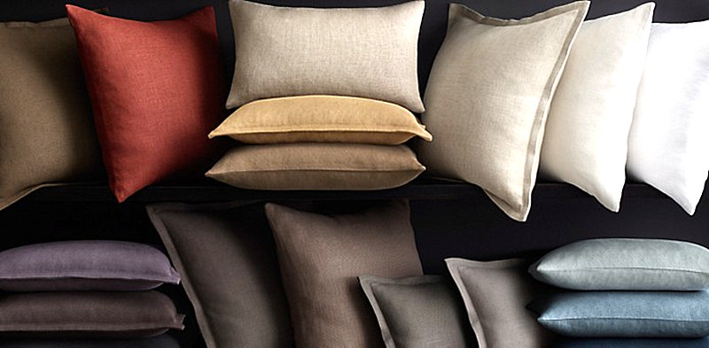 Pillows from Restoration Hardware