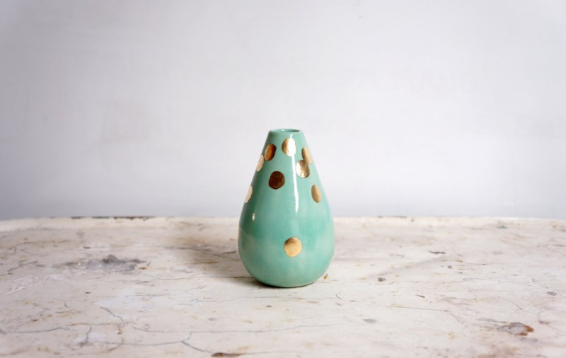 Polka dot vase from The Object Enthusiast