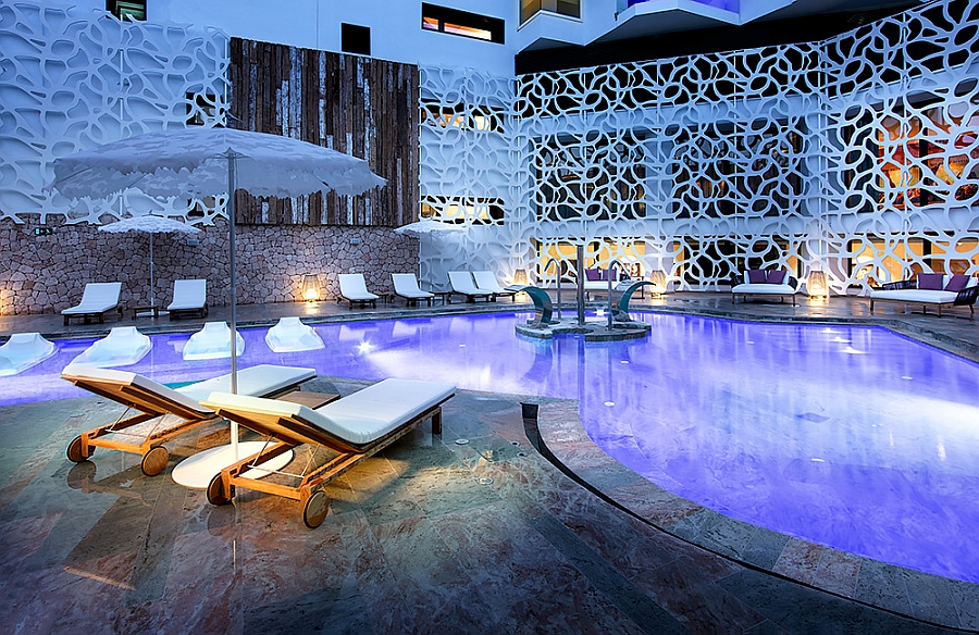 Pure Light Lounger from the KOS Series at Hard Rock Hotel in Ibiza