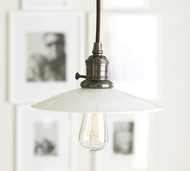 Retro modern pendant light