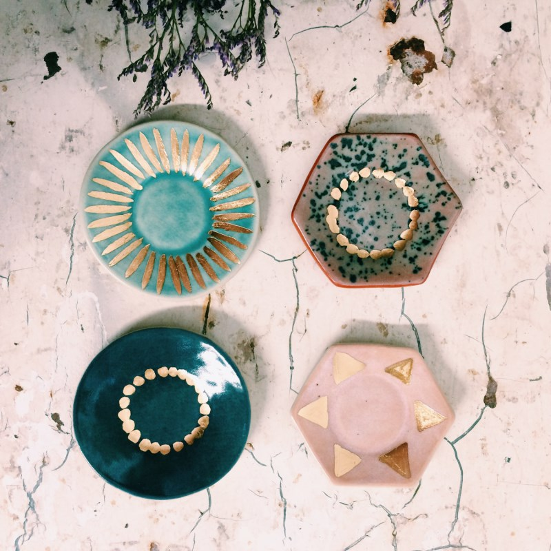 Ring dishes by The Object Enthusiast