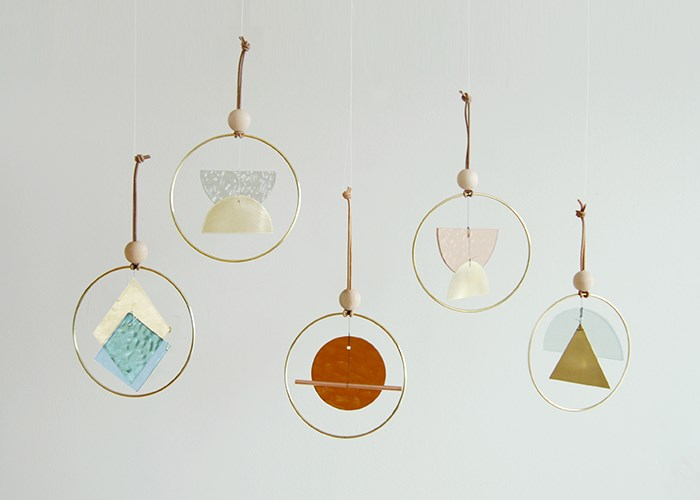 Sculptural mini chimes