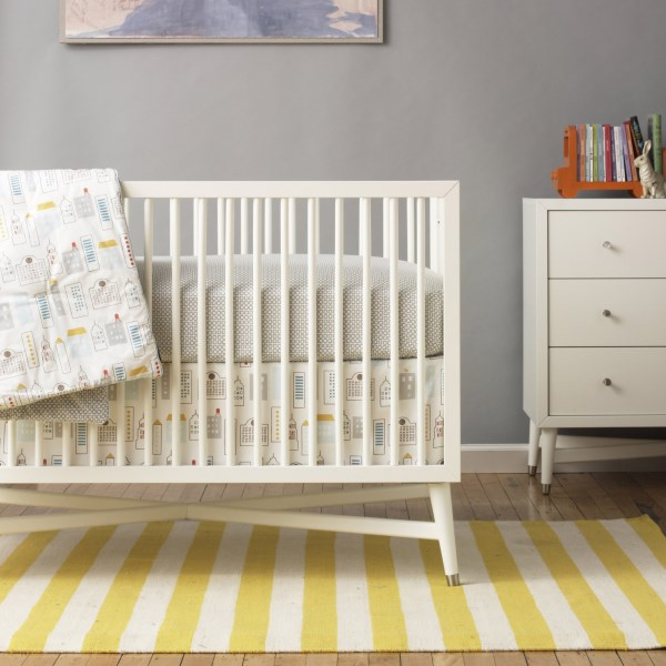 mid century modern baby furniture. View In Gallery Skyline-motif Bedding Mid Century Modern Baby Furniture .