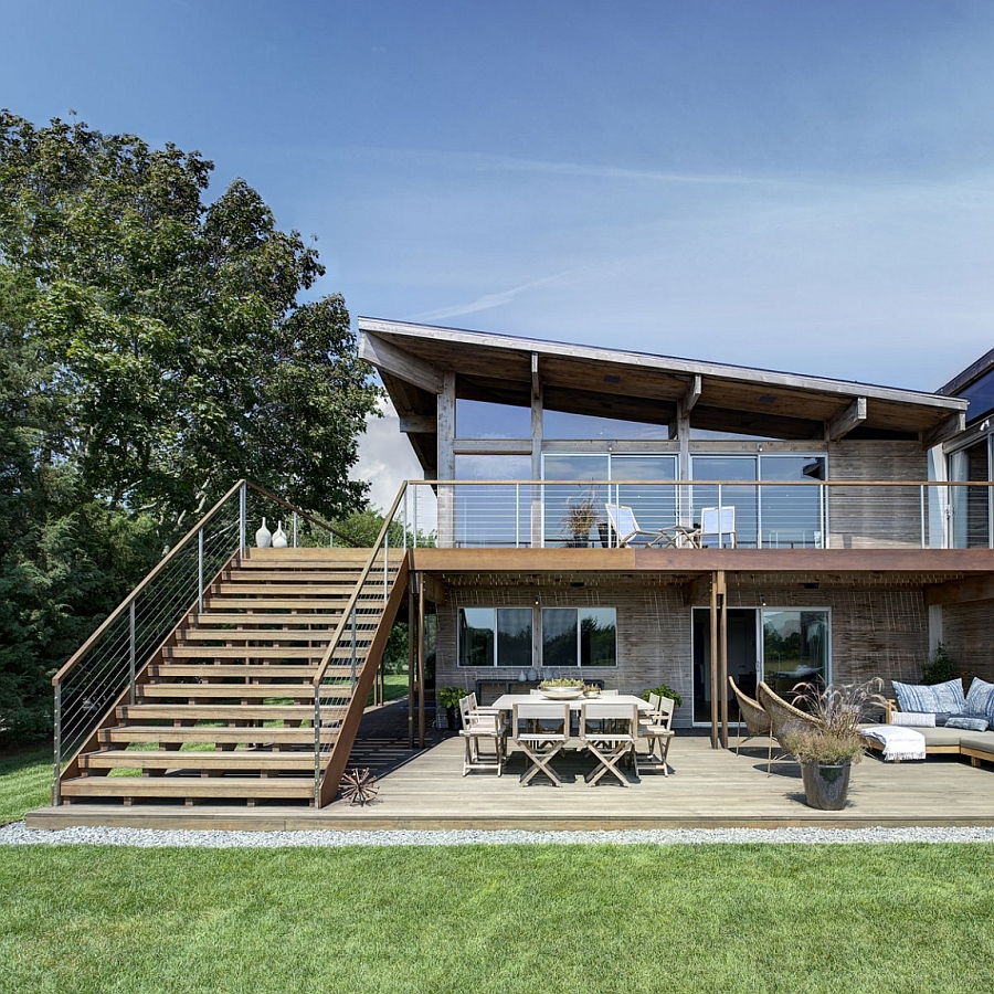 Waterfront New York Home Gets A Steely New Extension With ...
