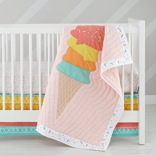 Sprinkles crib bedding