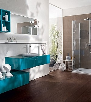 Stunning Contemporary Bathroom from Scavolini