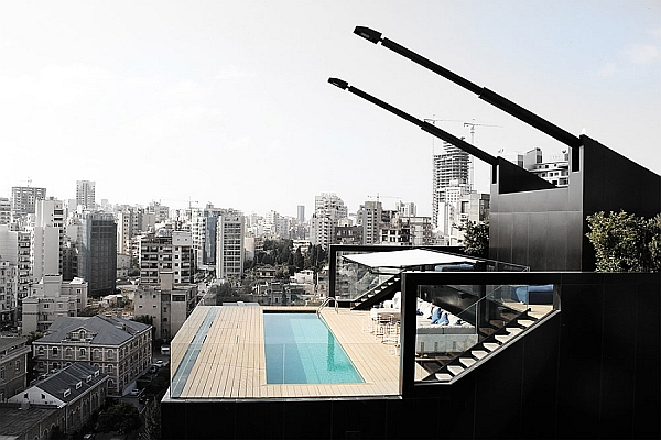 Stunning penthouse apartment in Beirut