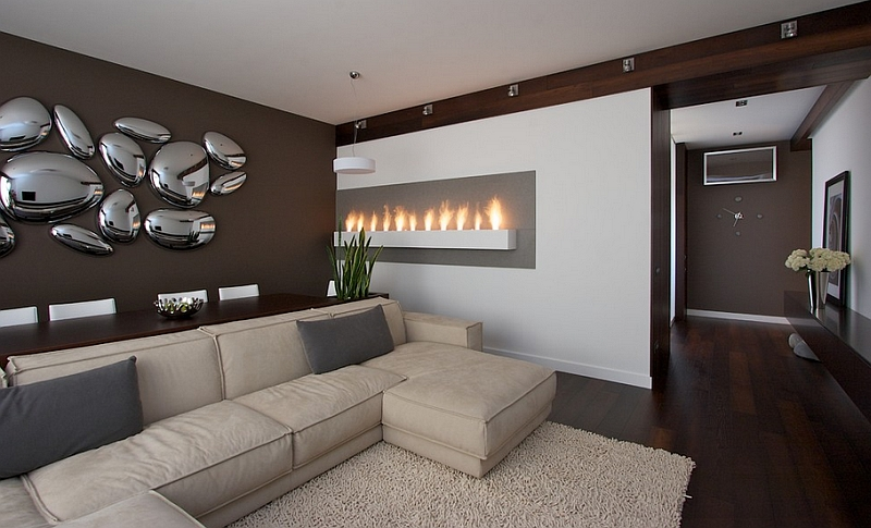 View In Gallery Stunning Use Of Skydro As Sculptural Wall Art In The Living  Room