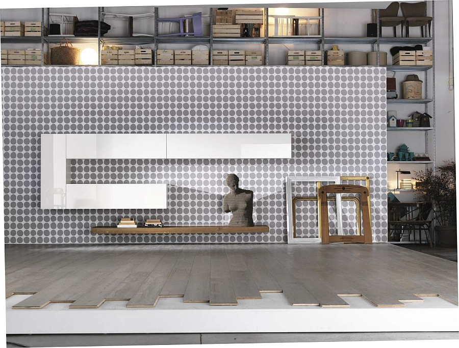 Style your living room and home office using stunning modular design units from Lago